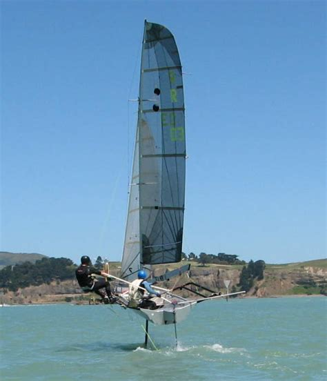 small hydrofoil boat for sale hydrofoils r class light weight high performance