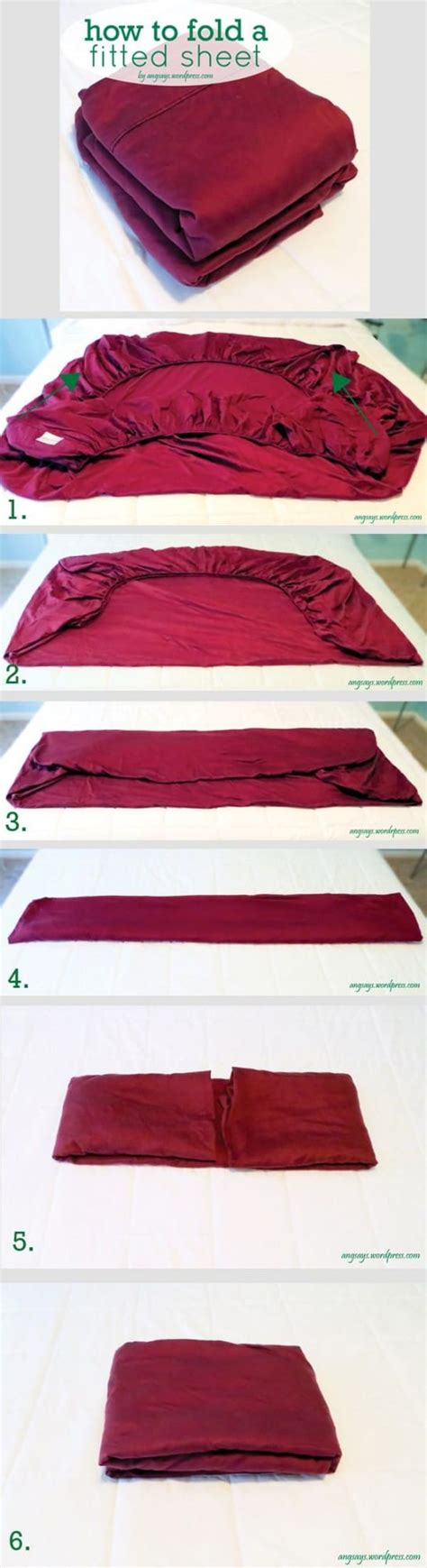 how to fold a fitted sheet easy tips and tricks