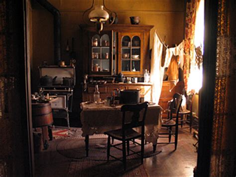 Furniture Kitchen tenement kitchen 1890