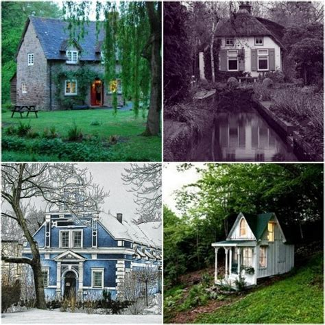 Storybook Cottage Homes by Magical Storybook Cottage Homes