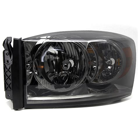 smoked dodge ram headlights 2006 2008 dodge ram 1500 250 3500