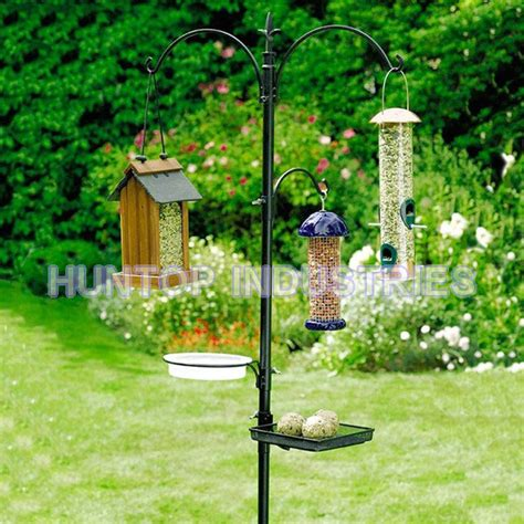multi wild bird feeder stations garden bird feeding