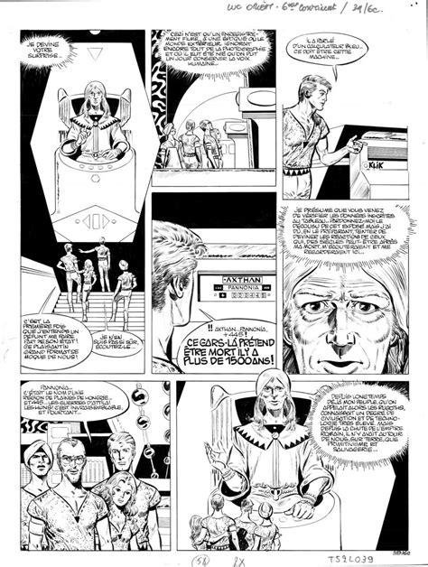 Planches originales de bande dessinée de PAAPE Eddy