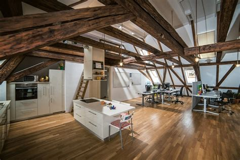 awesome attic office  timisoara daily dream decor