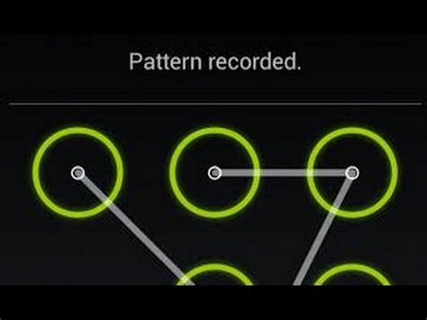 drawing pattern lock how to draw a lock pattern on your smartphone youtube