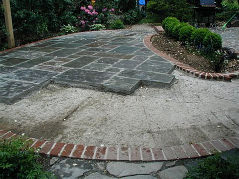 from wood deck to stone patio landscapeadvisor