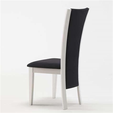 chaise de s 233 jour contemporaine en tissu et bois massif