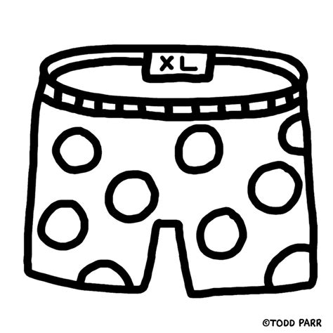 color the underwear todd parr activities and stuff