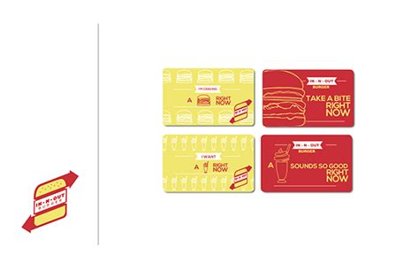In N Out Burger Gift Card - in n out burger rebrand on scad portfolios