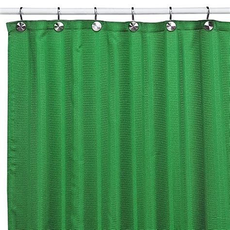 shower curtains green westerly green fabric shower curtain bed bath beyond