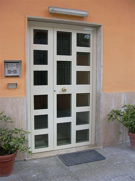 portoncino ingresso alluminio prezzi portoncino i alluminio con vetri visarm e serratura