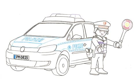 Vw Touran Polizei By Playmobil By Nessi6688 On Deviantart Vw Coloring Page