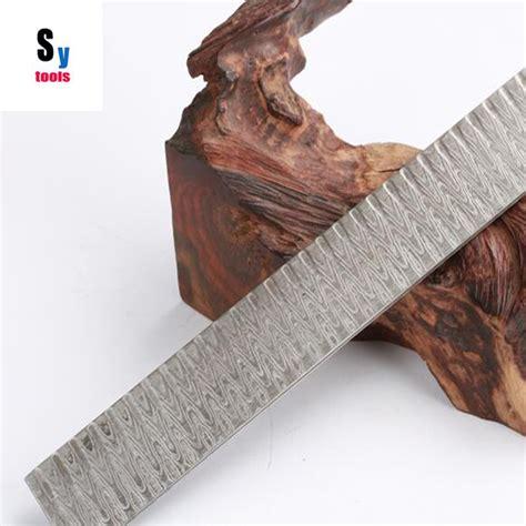 pattern welded knife blanks damascus steel blank reviews online shopping damascus