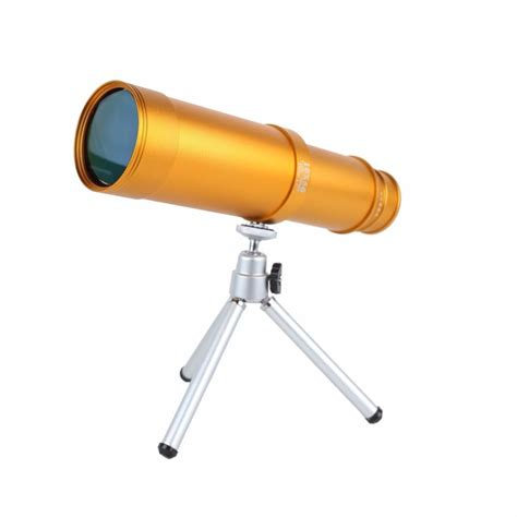 Hd Optical Monocular Telescope Vision 10x Zoom 30x25 popular the golden telescope buy cheap the golden telescope lots from china the golden telescope