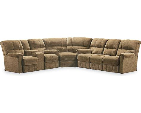 sofa sectional with recliner griffin reclining sectional sectionals lane furniture