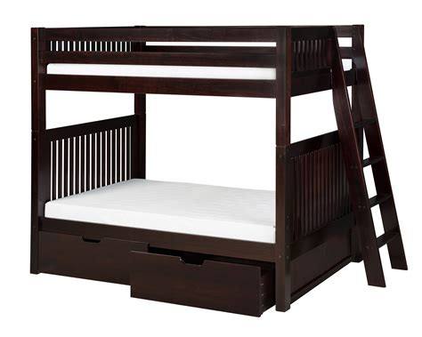 bunk bed ladder with drawers camaflexi bunk bed with drawers mission