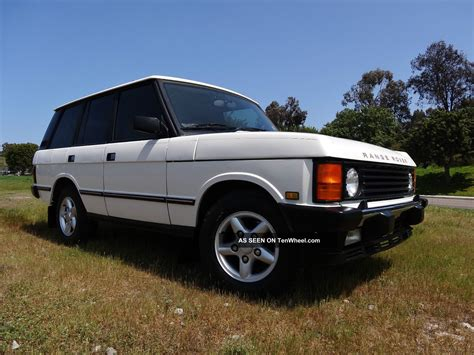 old range rover range rover classic wallpapers gallery