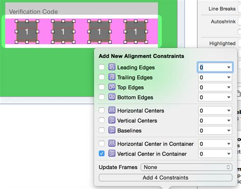 ios autolayout xcode 6 how to create equal spacing between multiple label in ios