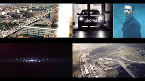 showreel template after effects free download production showreel after effects template videohive