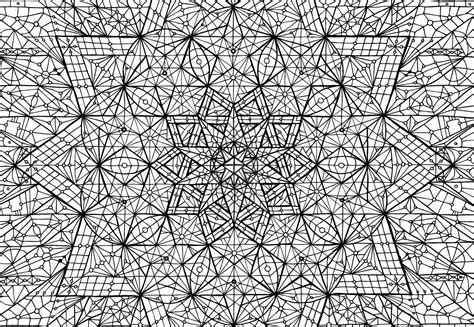 complicated geometric coloring pages complex geometric coloring pages coloring home