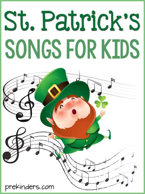 s day song esl st s day songs for prekinders
