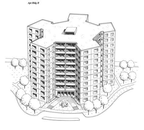 apartment layout drawing drawings of various microcommunity mc configurations