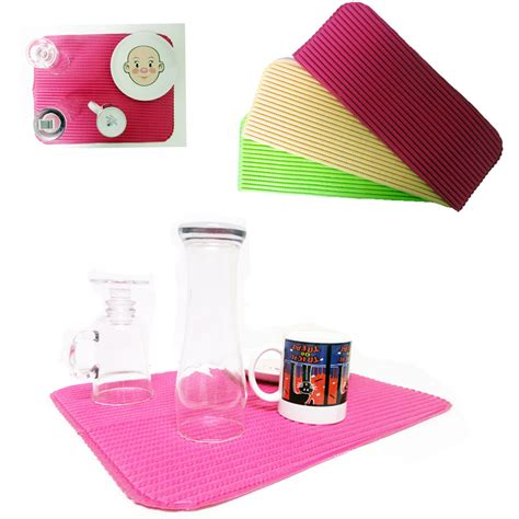 Absorbent Glass Mat by 1 Dish Drying Mat Absorbent Pad Anti Skid 18x14 Draining