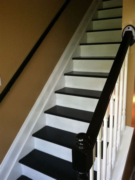 black staircase black and white staircase for the home pinterest