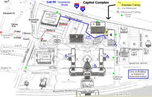 capitol complex map map directions parking map other