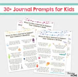 start a summer journal for kids free printable of 30