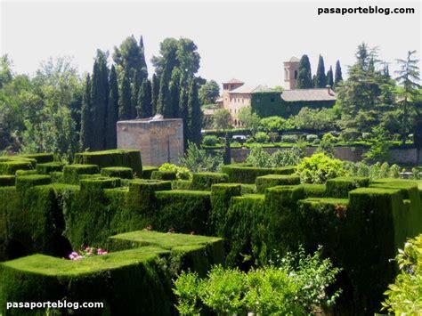 imagenes jardines generalife el generalife alhambra de granada