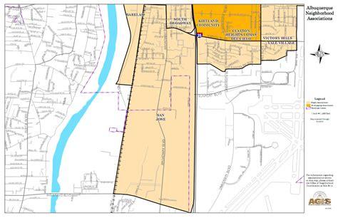 san jose nm map barelas neighborhood albuquerque south valley corona