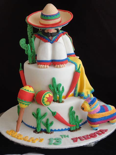 themed birthday cake recipes mexican theme cake cinco de mayo fiesta entertaining
