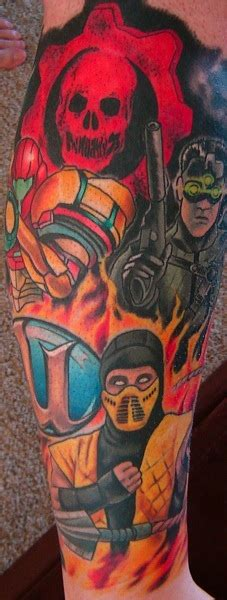 ars reader designs the ultimate gaming tattoo ars technica