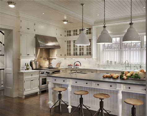 Beautiful White Kitchen Designs by Classic Hamptons Beach House Home Bunch Interior Design