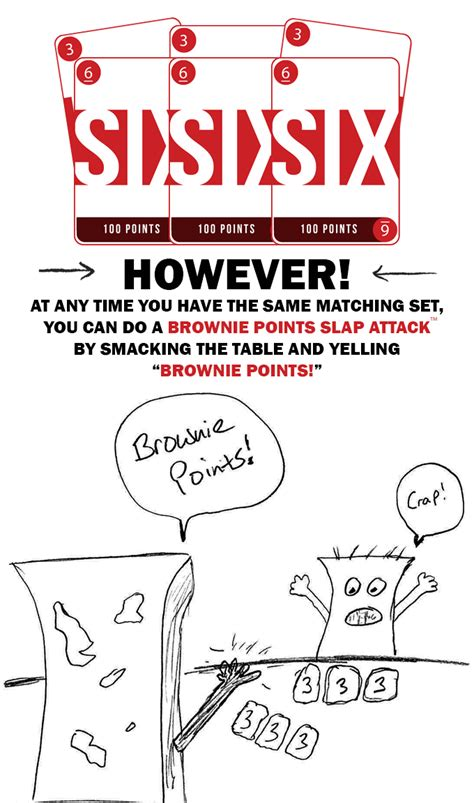 Maxi Gamis Brownis brownie points card the ultimate of slap attacks by jared king kickstarter