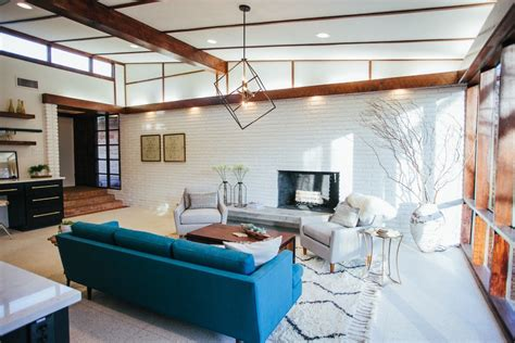 fixer upper season  episode   mid century modern home