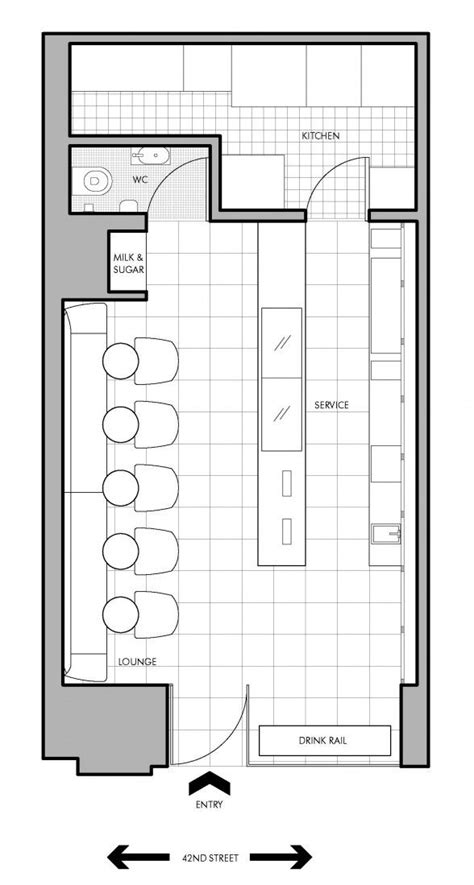 small store floor plan pin by alla yaqui on espacios pinterest small cafe