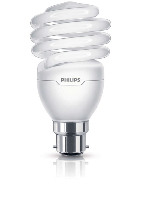 Lu Philips Tornado 8 Watt tornado spiral energy saving bulb 8718291679226 philips
