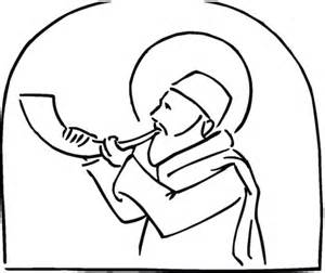 shofar coloring page 301 moved permanently