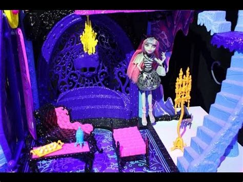 monster high doll house reviews monster high catacombs playset review doll house youtube