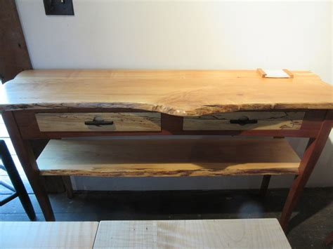 live edge sofa table live edge sofa table live edge hickory sofa table corey