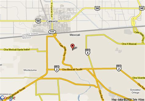 maps mexicali baja california map of crowne plaza hotel mexicali baja california mexicali