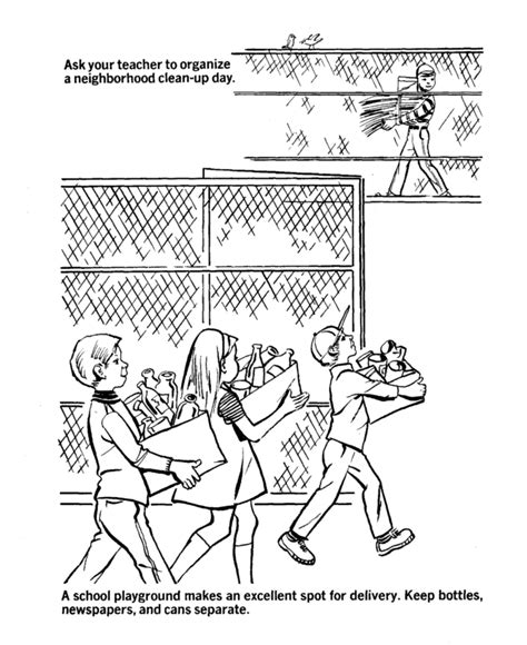 clean earth coloring pages neighborhood coloring page coloring home