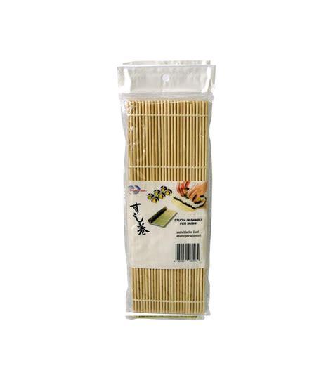 stuoia per sushi stuoia in bambu per sushi modelo s makisu