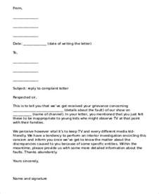 Complaint Letter Template Reply Compudocs Us New Sle Resume