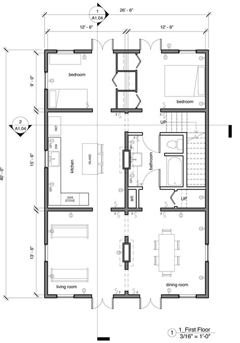 Creole Cottage Floor Plan | the floor plan a creole cottage