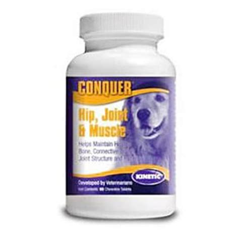 hip and joint supplements for dogs conquer 60 chewables hip joint and supplement for dogs