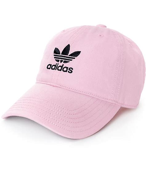 light pink adidas hat adidas women s pink baseball hat zumiez