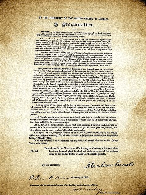 PHAWKER.COM – Curated News, Gossip, Concert Reviews ... Emancipation Proclamation Actual Document